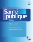 Vol. 33 n°2 - mars - avril 2021 - Pourquoi un dossie rthématique sur la fin de vie dans une revue de santé publique