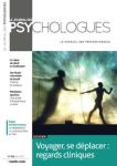 Le journal des psychologues - ISSN : 0752-501X, n°386 - avril 2021 - Voyager, se déplacer : regards cliniques